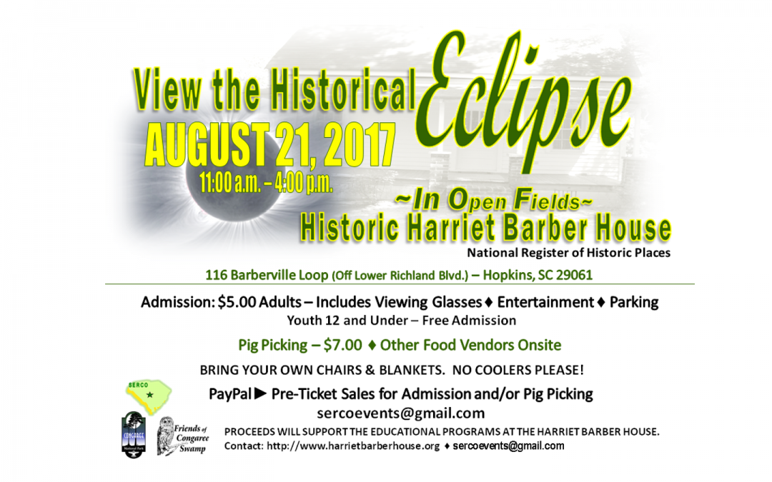 Eclipse @ The Harriet Barber House